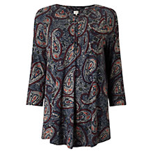 Buy East Zareen Print Jersey Top, Multi Online at johnlewis.com