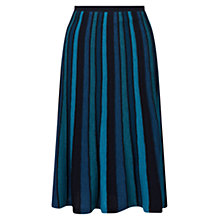 Buy East Merino Stripe Skirt Online at johnlewis.com