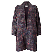 Buy East Gudri Paisley Coat, Multi Online at johnlewis.com