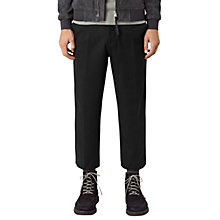 Buy AllSaints Pico Trousers, Black Online at johnlewis.com