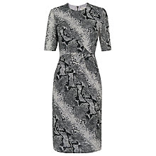 Buy Whistles Silk Dress, Snake Print Online at johnlewis.com