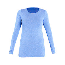 Buy Lole Agnessa Long Sleeve Yoga T-Shirt, Blue Online at johnlewis.com
