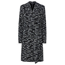 Buy Sugarhill Boutique Eddie Textured Coatigan, Black/Grey Online at johnlewis.com