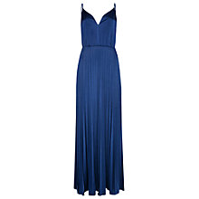 Buy True Decadence Pleated Cami Maxi Dress, Royal Blue Online at johnlewis.com