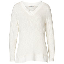 Buy Betty Barclay V-Neck Long Sleeved Top, Off White Online at johnlewis.com