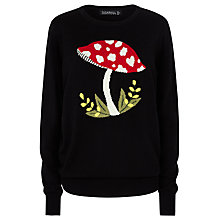 Buy Sugarhill Boutique Nita Toadstool Jumper, Black Online at johnlewis.com