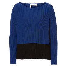 Buy Betty Barclay Two-Tone Jumper, Blue Online at johnlewis.com
