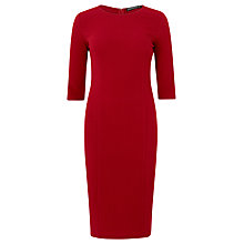 Buy Sugarhill Boutique Claudia Ponte Dress, Burgundy Online at johnlewis.com