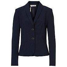 Buy Betty Barclay Tailored Short Blazer, Dark Sky Online at johnlewis.com
