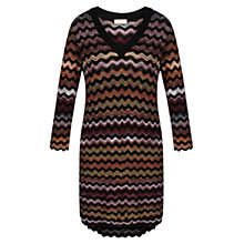 Buy Celuu Marcy Wave Knit Jumper, Multi Online at johnlewis.com