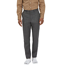 Buy Lou Dalton X Jaeger Flannel Trousers, Charcoal Online at johnlewis.com