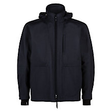 Buy Lou Dalton X Jaeger Hooded Blouson, Navy Online at johnlewis.com