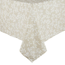 Buy John Lewis Trailing Leaves Wipe Clean Tablecloth Online at johnlewis.com