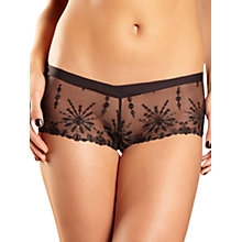 Buy Chantelle Vendôme Short Briefs, Black/Gold Online at johnlewis.com