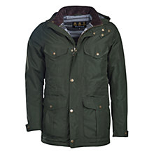 Buy Barbour Marsden Water-Resistant Breathable Jacket, Sage Online at johnlewis.com