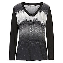 Buy Betty Barclay Graphic Print Top, Black/White Online at johnlewis.com