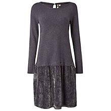 Buy White Stuff Icon Dress, Charcoal Online at johnlewis.com