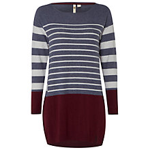 Buy White Stuff Foxtail Tunic Jumper, Grey Marl Online at johnlewis.com