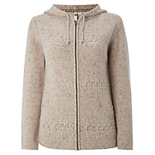 Buy White Stuff Carmine Hoody, Natural Online at johnlewis.com