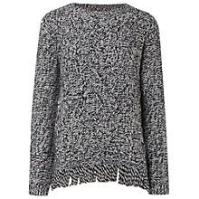Buy White Stuff Frontier Jumper, Deep Dusky Blue Online at johnlewis.com