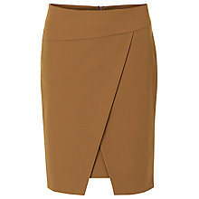 Buy Betty Barclay Wrapped Pencil Skirt, Dark Brass Online at johnlewis.com