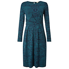 Buy White Stuff Into The Night Jersey Dress, Green Online at johnlewis.com