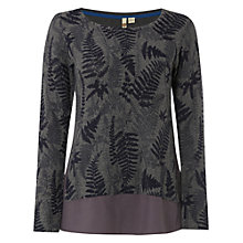 Buy White Stuff Chestnut Print Jumper, Grey Online at johnlewis.com