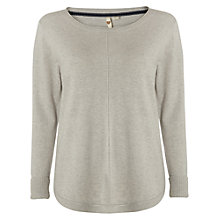 Buy White Stuff Clayton Knit Top, Light Grey Marl Online at johnlewis.com
