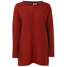 Buy White Stuff Cosy Tunic, Carmine Orange Online at johnlewis.com