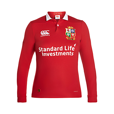 Canterbury of New Zealand British and Irish Lions Classic Long Sleeved Women's Rugby Shirt