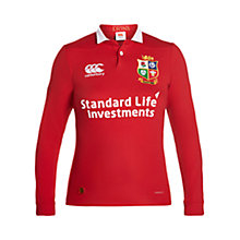 Buy Canterbury of New Zealand British and Irish Lions Classic Long Sleeved Women's Rugby Shirt Online at johnlewis.com