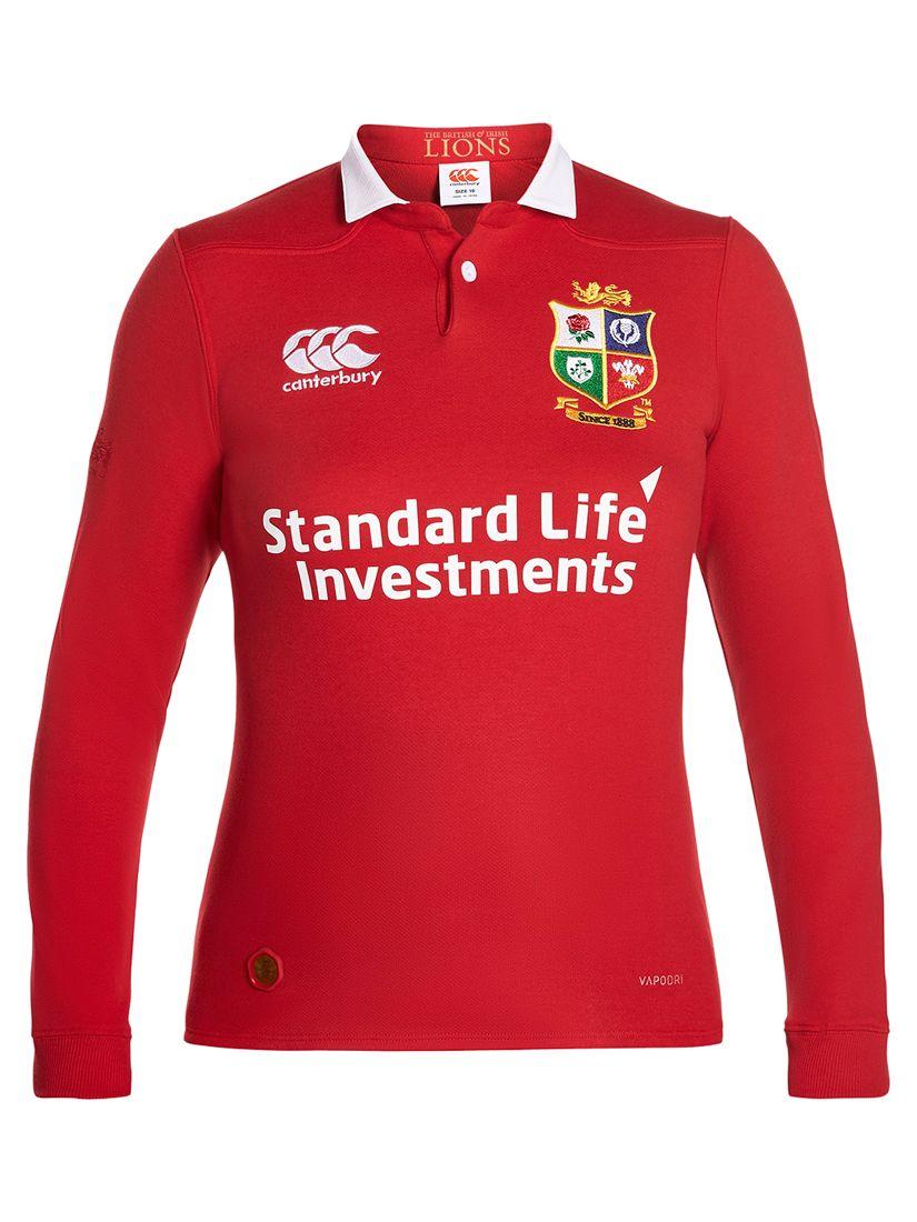 Canterbury of New Zealand Canterbury of New Zealand British and Irish Lions Classic Long Sleeved Women's Rugby Shirt