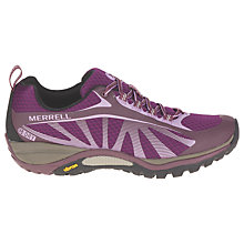 Buy Merrell Siren Edge Waterproof Women's Walking Shoes, Purple Online at johnlewis.com