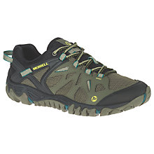 Buy Merrell All Out Blaze Aero Sport Men's Walking Shoes, Green Online at johnlewis.com