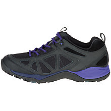 Buy Merrell Siren Q2 Sport Women's Walking Shoes, Black Online at johnlewis.com