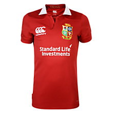 Buy Canterbury of New Zealand British and Irish Lions Match Day Pro Children's Rugby Shirt, Red Online at johnlewis.com