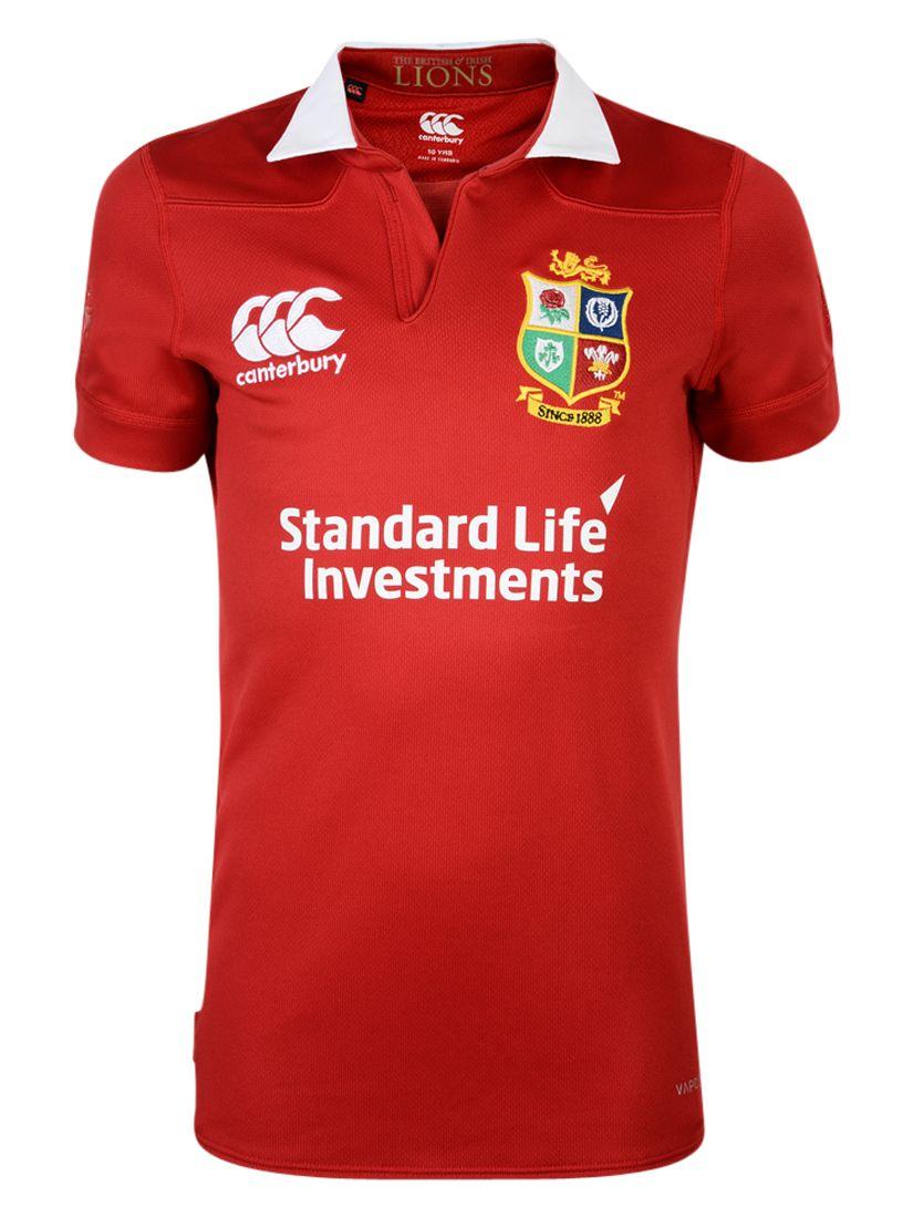 Canterbury of New Zealand Canterbury of New Zealand British and Irish Lions Match Day Pro Children's Rugby Shirt, Red