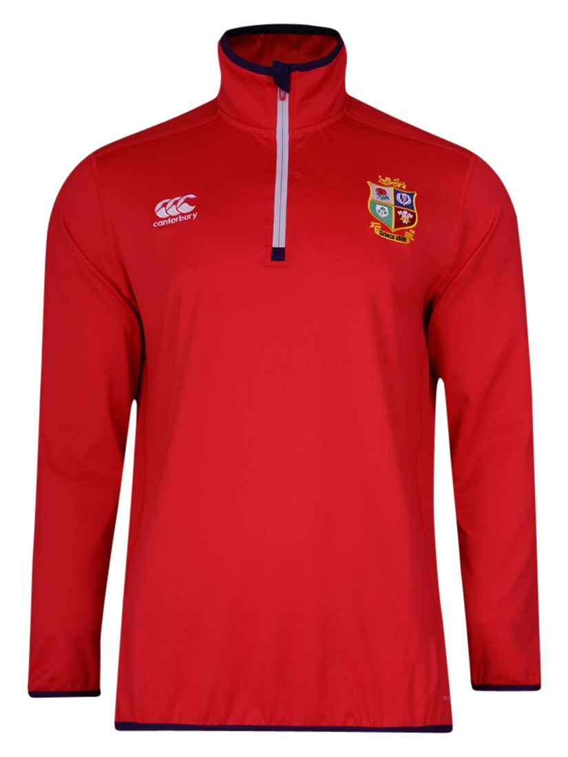 Canterbury of New Zealand Canterbury of New Zealand British and Irish Lions Thermoreg Base Layer Top, Red