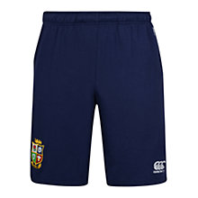 Buy Canterbury of New Zealand British and Irish Lions Cotton Jersey Shorts, Navy Online at johnlewis.com