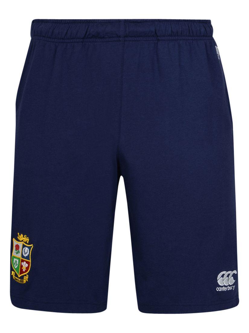 Canterbury of New Zealand Canterbury of New Zealand British and Irish Lions Cotton Jersey Shorts, Navy