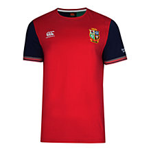 Buy Canterbury of New Zealand British and Irish Lions Rugby Training T-Shirt, Red Online at johnlewis.com