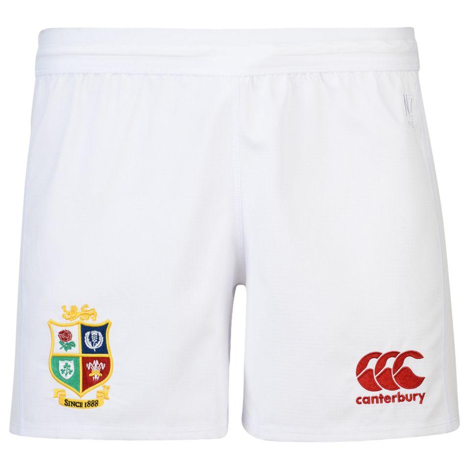 Canterbury of New Zealand Canterbury of New Zealand British and Irish Lions Home Rugby Shorts, White