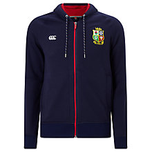 Buy Canterbury of New Zealand British and Irish Lions VapoShield Full Zip Hoodie, Navy Online at johnlewis.com