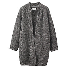 Buy Toast Knitted Tweed Wool Coat, Grey/Black Online at johnlewis.com