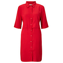 Buy Minimum Nelle Shirt Dress, Tango Red Online at johnlewis.com