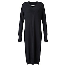 Buy Minimum Ilsellie Knitted Dress, Black Online at johnlewis.com