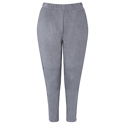Minimum Heather Suedette Trousers, Grey