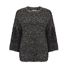 Buy Numph Austine Sparkle Jumper, Caviar Online at johnlewis.com