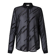 Buy Numph Kveta Shirt, Caviar Online at johnlewis.com
