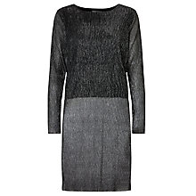 Buy Minimum Mettemarie Tunic Dress, Black Online at johnlewis.com